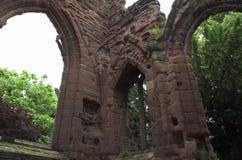 Oude ruïne Stock Foto
