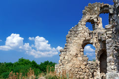 Oude ruïnes Royalty-vrije Stock Fotografie