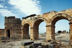 Oude ruïnes Royalty-vrije Stock Foto's