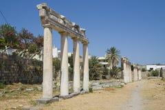 Oude ruïnes Stock Afbeelding