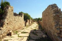 Oude ruïnes Stock Fotografie