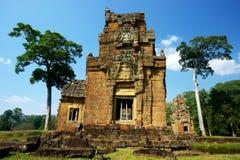 Oude Ruïnes Angkor Royalty-vrije Stock Foto's