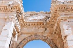 Oude ruïnes in Ephesus Turkije Royalty-vrije Stock Afbeelding