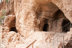 Oude ruïnes in Israël Royalty-vrije Stock Foto's