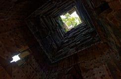 Oude ruïnes, Kambodja stock afbeelding