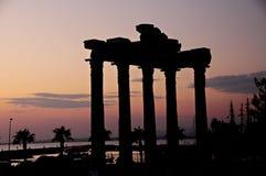 Oude ruïnes in Kant, Turkije Stock Foto's