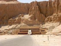 Oude ruïnes in Luxor Egypte stock foto