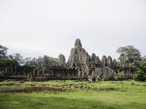 Oude ruïnes op Angkor-gebied van Kambodja Royalty-vrije Stock Foto's