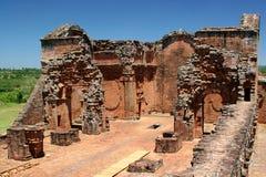 Oude ruïnes in Trinidad Stock Afbeelding