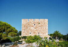 Oude ruïnes van een fort Royalty-vrije Stock Afbeelding