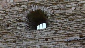 Oude ruïnes van een oude vesting Royalty-vrije Stock Foto's