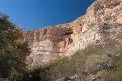 Oude ruïnes van het kasteel van Montezuma Royalty-vrije Stock Afbeelding
