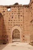Oude ruïnes van het Paleis van Gr Badi Royalty-vrije Stock Foto's