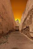 Oude ruïnes van het Paleis van Gr Badi Stock Fotografie