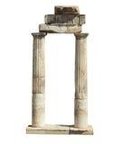 Oude Ruïnes van Hierapolis Royalty-vrije Stock Afbeelding
