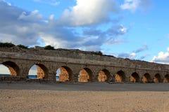 Oude Ruïnes van Israël Royalty-vrije Stock Foto's