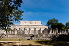 Oude Mayan stad - Chichen Itza Royalty-vrije Stock Afbeelding