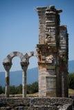Oude ruïnes van Philippi Royalty-vrije Stock Afbeelding
