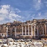 Oude ruïnes in Zijturkije Royalty-vrije Stock Afbeeldingen