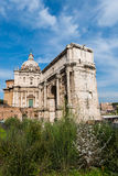 Oude ruines van Rome Stock Foto