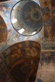 Oude Russische fresko's Stock Afbeelding