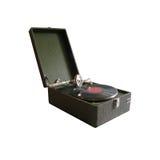 Oude Russische grammofoon Royalty-vrije Stock Afbeeldingen