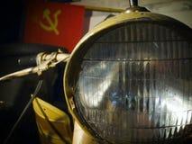 Oude Russische motor Royalty-vrije Stock Afbeelding