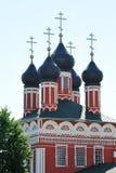 Oude Russische Orthodoxe Kerk in de stad van Bolkhov Stock Foto's
