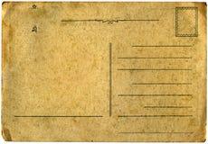 Oude Russische prentbriefkaar   Stock Afbeeldingen
