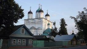 Oude Russische provincie Royalty-vrije Stock Fotografie
