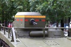 Oude Russische Tank Royalty-vrije Stock Afbeeldingen