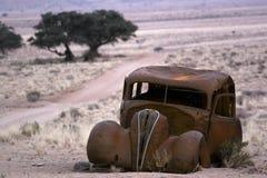 Oude rustieke auto Royalty-vrije Stock Foto's