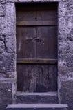 Oude Rustieke deur Royalty-vrije Stock Afbeeldingen