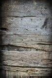 Oude rustieke houten deur Stock Afbeeldingen