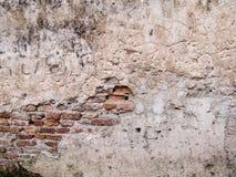 Oude rustieke muur stock afbeelding