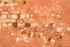 Oude rustieke muurachtergrond Stock Afbeeldingen