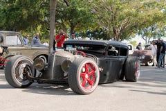 Oude Rusty Rod-auto Royalty-vrije Stock Afbeelding