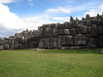 Oude Sacsayhuaman Royalty-vrije Stock Foto's