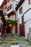 Oude Safranbolu-huizen Stock Fotografie