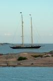 Oude sailingboat Royalty-vrije Stock Afbeeldingen