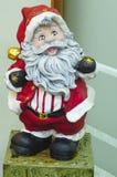 Oude Santa Claus-status stock foto