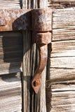 Oude scharnieren Stock Fotografie