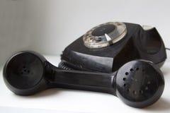 Oude schijftelefoon Stock Fotografie