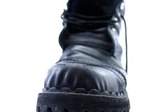 Oude schoen Stock Foto