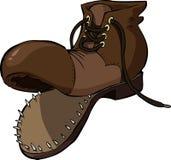 Oude schoen Royalty-vrije Stock Afbeeldingen