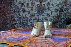Oude schoen Stock Afbeelding