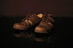 Oude Schoenen Royalty-vrije Stock Foto's