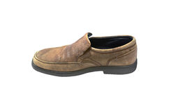 Oude schoenen Royalty-vrije Stock Foto