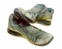 Oude Schoenen stock afbeelding