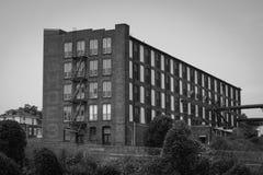 Oude Schoenfabriek Stock Afbeeldingen